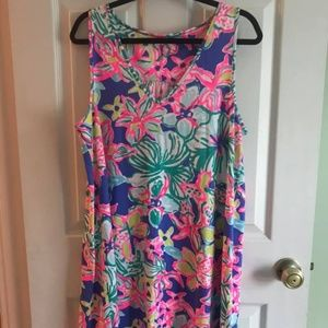 Lilly Pulitzer Blythe Swing Dress Size Large